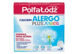 Calcium Alergo Plus Junior Karton 16tab